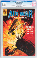 Silver Age (1956-1969):War, Air War Stories #3 File Copy (Dell, 1965) CGC NM/MT 9.8 Off-whiteto white pages....