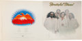 Music Memorabilia:Posters, Grateful Dead Go To Heaven LP (Arista AL 9508, 1980):Original Full Album Cover Press Proof....