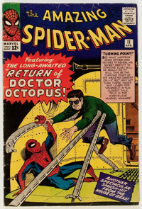 The Amazing Spider-Man #11 (Marvel, 1964) Condition: VG