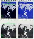 Music Memorabilia:Posters, Troggs Wild Thing LP (Atco 33-193, 1966): Original FrontCover Color Separation Press Proofs....
