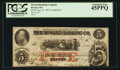 Obsoletes By State:Massachusetts, Boston, MA- The Howard Banking Co. $5 Aug. 23, 1857 C8a. ...