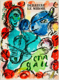 Books:Art & Architecture, [Art Periodical] [Marc Chagall]. Issue of Derriere le Miroir. Featuring lithographs by Chagall. France, 1972. Folio....