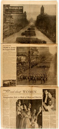 Miscellaneous:Newspaper, [Newspaper] [Dwight D. Eisenhower]. The Washington Post.January 21, 1953. With pictures and articles about Eisenhow...