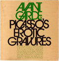Books:Art & Architecture, [Pablo Picasso]. Ralph Ginzburg, editor. Picasso's Erotic Gravures. Comprising a special of Avant Garde #8. Sept...