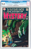 Silver Age (1956-1969):Horror, House of Mystery #180 (DC, 1969) CGC NM 9.4 Off-white pages....