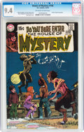 Bronze Age (1970-1979):Horror, House of Mystery #186 (DC, 1970) CGC NM 9.4 Off-white to whitepages....