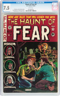 Golden Age (1938-1955):Horror, Haunt of Fear #9 (EC, 1951) CGC VF- 7.5 White pages....
