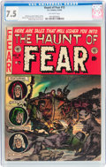 Golden Age (1938-1955):Horror, Haunt of Fear #13 (EC, 1952) CGC VF- 7.5 Off-white pages....