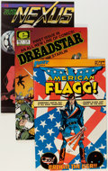 Modern Age (1980-Present):Miscellaneous, First Comics Box Lot (First, 1980s) Condition: Average VF+....