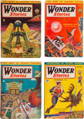 Pulps:Science Fiction, Wonder Stories Group (Standard, 1934-36) Condition: AverageVG/FN.... (Total: 27 Comic Books)