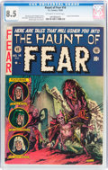 Golden Age (1938-1955):Horror, Haunt of Fear #14 (EC, 1952) CGC VF+ 8.5 Off-white to whitepages....