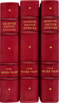 Pulps:Horror, Weird Tales Bound Volumes (Popular Fiction, 1920s-'30s).... (Total: 3 Items)