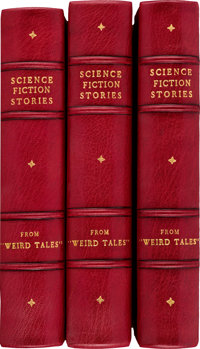 Weird Tales Bound Volumes (Popular Fiction, 1920s-'30s).... (Total: 3 Items)