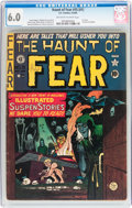 Golden Age (1938-1955):Horror, Haunt of Fear #15 (#1) (EC, 1950) CGC FN 6.0 Off-white to whitepages....