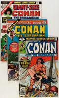 Bronze Age (1970-1979):Adventure, Conan the Barbarian #100-197 and Others Box Lot (Marvel, 1979-87) Condition: Average VF/NM....