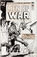 Original Comic Art:Covers, Joe Kubert Men of War #7 Cover Original Art (DC, 1978)....