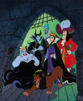 Animation Art:Seriograph, Marc Davis Disney's Dungeon of Doom Signed Limited AnimationArt Serigraph (Disney, 1998)....
