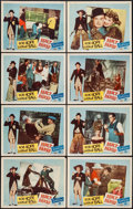 "Movie Posters:Comedy, Fancy Pants (Paramount, 1950). Lobby Card Set of 8 (11"" X 14"").Comedy.. ... (Total: 8 Items)"