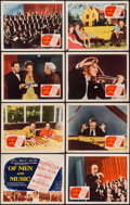 """Movie Posters:Documentary, Of Men and Music (20th Century Fox, 1951). Lobby Card Set of 8 (11"""" X 14""""). Documentary.. ... (Total: 8 Items)"""