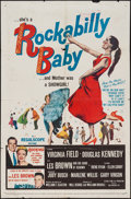 """Movie Posters:Rock and Roll, Rockabilly Baby (20th Century Fox, 1957). One Sheet (27"""" X 41"""")& Lobby Cards (7) (11"""" X 14""""). Rock and Roll.. ... (Total: 8Items)"""
