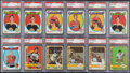 Hockey Cards:Lots, 1971 & 1972 Topps Hockey PSA Graded Collection (28) With Orr,Dryden RCs and HoFers! ...