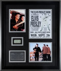 Music Memorabilia:Tickets, Elvis Presley Day Concert Ticket from Tupelo Fair, 1956....