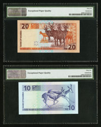 1999 9b Pick 9 100 dollars UNC ND Namibia // Africa