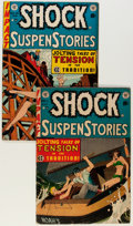 Golden Age (1938-1955):Horror, Shock SuspenStories #11 and 13 Group (EC, 1953-54).... (Total: 2Comic Books)