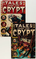 Golden Age (1938-1955):Horror, Tales From the Crypt #43 and 44 Group (EC, 1954-55).... (Total: 2Comic Books)