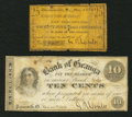 Obsoletes By State:Ohio, Painesville, OH- G.R. Cowles at the Bank of Geauga 10¢; 25¢ Nov.,1862 Wolka 2156-02; -03. ... (Total: 2 notes)