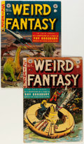 Golden Age (1938-1955):Science Fiction, Weird Fantasy #17 and 18 Group (EC, 1953).... (Total: 2 ComicBooks)