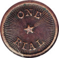 Coins of Hawaii: , 1882 Haiku 1 Real Plantation Token AU58 NGC. TE-15. The TE-6Aattribution routinely given by NGC corresponds to tokens produ...