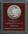 Additional Certified Coins: , 1898-S $1 Morgan Dollar MS65 Paramount International (MS64). Ex: Redfield Collection. This pl...