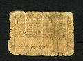 Colonial Notes:New York, New York September 2, 1775 $2 Good....