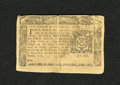 Colonial Notes:New York, New York March 5, 1776 $2/3 Extremely Fine. A moisture spot coversalmost half of this note....