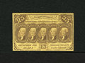 Fractional Currency:First Issue, Fr. 1281 25c First Issue Choice New. This example is shrouded in nice color and paper....