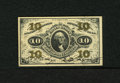 Fractional Currency:Third Issue, Fr. 1255 10c Third Issue Gem New. An enormously margined example of this green back type that has wonderful visual appeal an...