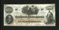 Confederate Notes:1862 Issues, T41 $100 1862. This quality Choice Crisp Uncirculated example isnicely margined....