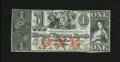 Obsoletes By State:Rhode Island, Providence, RI- Mount Vernon Bank $1 Nov. 22, 1858. This bank moved from Foster to Providence. Choice Crisp Uncirculated....