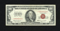 Small Size:Legal Tender Notes, Fr. 1550* $100 1966 Legal Tender Star Note. Very Fine.. This is a scarce Star in any condition....