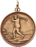 Golf Collectibles:Miscellaneous, 1908 Willie Macfarlane Runner Up Gold Medal....