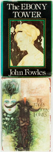 Books:Literature 1900-up, John Fowles. SIGNED. The Magus. London: World Books, [1967].Second edition. Signed by the author. Twelvemo. Pub... (Total: 2Items)