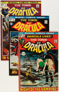 Bronze Age (1970-1979):Horror, Tomb of Dracula #1-5 Group (Marvel, 1972) Condition: AverageFN/VF.... (Total: 5 Comic Books)