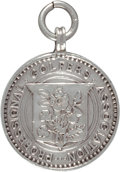 Golf Collectibles:Miscellaneous, 1906 Ted Ray Contestant Badge From England vs. Scotland Match....