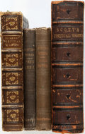 Books:Literature Pre-1900, [literature]. Group of Four Books. Various publishers and dates.Octavos. Later editions. George William Curtis. Nil... (Total: 4Items)
