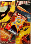 Books:Pulps, [Pulps]. Five Issues of Astounding Stories. 1937. Toning andedgewear with some loss. Good. . ... (Total: 5 Items)