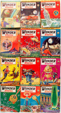 Books:Pulps, [Pulps]. Twelve Issues of Wonder Stories. 1931-1934. Toningand edgewear with some loss. Good. . ... (Total: 12 Items)