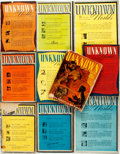 Books:Pulps, [Pulps]. Ten Issues of Unknown Worlds [and:] UnknownFantasy Fiction. 1940-194. Toning and edgewear with som...(Total: 10 Items)