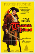 "Movie Posters:Adventure, Treasure Island & Other Lot (Buena Vista, R-1975). One Sheets(2) (27"" X 41""). Adventure.. ... (Total: 2 Items)"