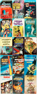 Books:Science Fiction & Fantasy, [Science Fiction] Group of Fifteen Ace Paperbacks. 1955-1968. Publisher's printed wrappers. Some toning, waterstaining a... (Total: 15 Items)